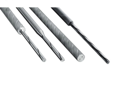 OEM Extruded Tungsten Carbide Rod Wit Helix Hole Reliable Performance